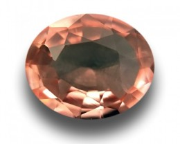 1.03 CTS Natural Padparadscha Loose Gemstone Certified Ceylon-NEW