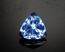 2.548ct Tanzanite Trillion !Stunning Color!