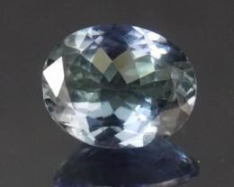 3.282ct Tanzanite Bi-color Oval