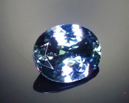 3.282ct Tanzanite Bi-color Oval