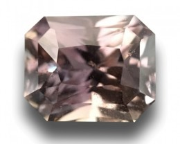 3.42 CTS   Natural Purple Sapphire   Loose Gemstone   Sri Lanka - New