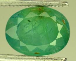 2.10 ct Natural Green Grandidierite Extremely Rare~Madagascar