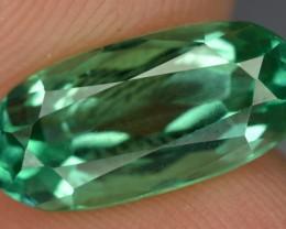 4.70 Crt  Beautiful Green Spodumene Gemstone~ Afghanistan