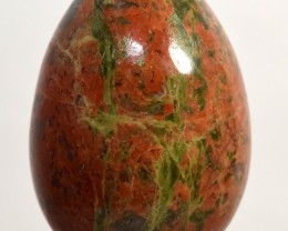 "2"" Natural Unakite Egg Red Green Crystal Mineral - India (STUNB-NA22)"