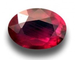 0.65 CTS | Natural Pinkish Red ruby |Loose Gemstone|New| Sri Lanka