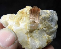 Very Rare Katlang Topaz Specimen From Pakistan Collector's Gem