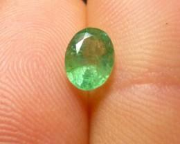 0.81cts  Emerald , 100% Natural Gemstone
