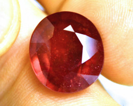 15.96 Carat Fiery Genuine Ruby - Gorgeous