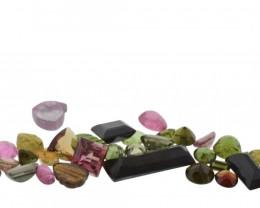 54.56 cts 64 Stones Tourmaline Parcel
