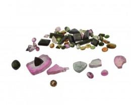 57.47 cts 61 Stones Tourmaline Parcel
