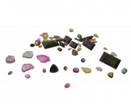 55.42 cts 51 Stones Tourmaline Parcel