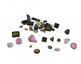 53.48 cts 40 Stones Tourmaline Parcel