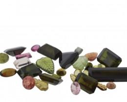55.66 cts 45 Stones Tourmaline Parcel
