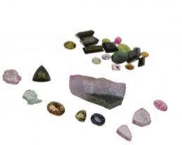 46.21 cts 27 Stones Tourmaline Parcel