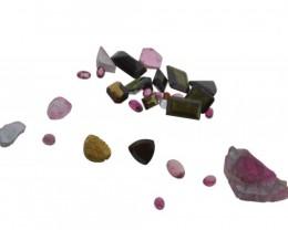 49.76 cts 30 Stones Tourmaline Parcel