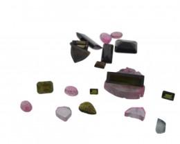 69.43 cts 21 Stones Tourmaline Parcel