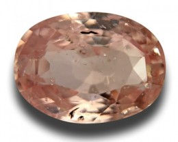 2.17 CTS | Natural Orange Pink padparadscha |Loose Gemstone|New| Sri Lanka
