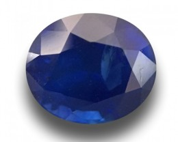 1.29 CTS | Natural Royal Blue Sapphire | Loose Gemstone |Ceylon - New