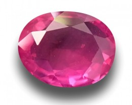 1.09 CTS Natural Pink sapphire |Loose Gemstone|New Certified| Sri Lanka