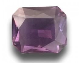 3.35 CTS Natural Pinkish Purple  sapphire|New Certified| Sri Lanka