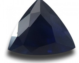 1.25 Cts | Natural Deep Royal Blue Sapphire | Loose Gemstone | Sri Lanka Ce
