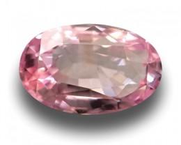 1.21 CTS   Natural Orange Pink padparadscha  Loose Gemstone New  Sri Lanka