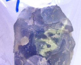 First Class Rare1100ct purple fluorite Specimen Electric Blue