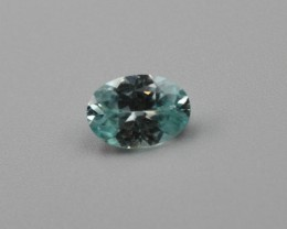 BLUE ZIRCON OVAL SHAPED