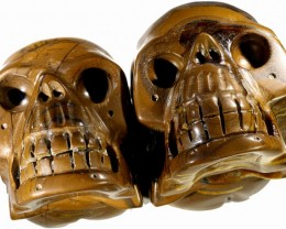 3755.00 Family Mum and Dad Tiger iron skulls PPP 1110