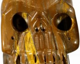 1720.00 Tiger iron  skull PPP 1128