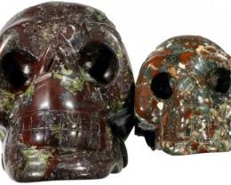 605.00 Jasper 2 set skulls PPP 1130