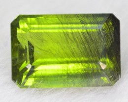 7.85 CT NATURAL BEAUTIFUL RUTILE PERIDOT GEMSTONE