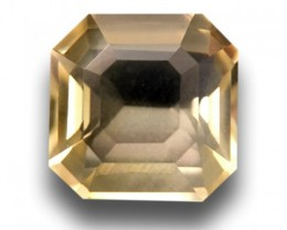 1.62 CTS | Natural yellow sapphire |Loose Gemstone|New Certified| Sri Lanka