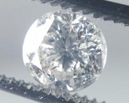 0.74 Carat Round Brilliant Cut Diamond