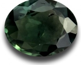 1.12 CTS | Natural green sapphire |Loose Gemstone|New Certified| Sri Lanka