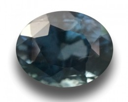 1.78 CTS Natural Green Blue sapphire |Loose Gemstone|New Certified| Sri Lan