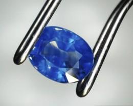 0.52 Carat Oval Cut Blue Sapphire