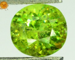 GiL Certified 1.19 ct Natural Russian Demantoid Garnet