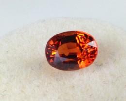 1.53 Carat Oval Cut Mandarin Orange Spessartite - Price Drop!!!
