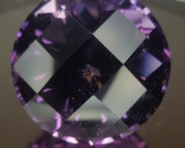 24.51ct Checkerboard Amethyst