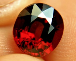 3.85 Carat VVS1 African Rhodolite Garnet - Gorgeous