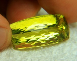 54.69 Carat Vibrant African VVS1 Lemon Quartz - Superb