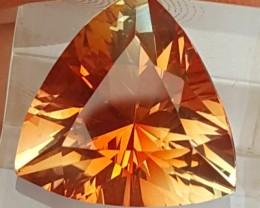 7.20cts Certified Oregon Sunstone,  VVS1,   Top Radiant Cut,  Amazing Stone