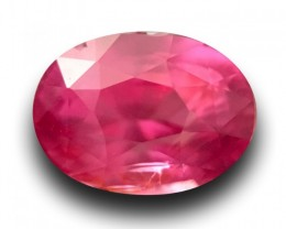 1.07 Carats|Natural Unheated Pink sapphire|Loose Gemstone|Sri Lanka-New