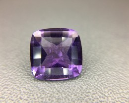 Natural Amethyst Awesome Color & Luster Gemstone