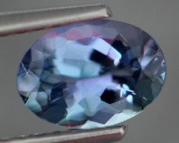 1.04Ct VVS Clarity Blue Oval Cut Natural Tanzanite