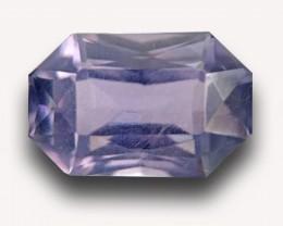 3.73 CTS |Natural Unheated Violet Sapphire | Loose Gemstone | Sri Lanka - N