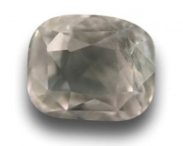 2.28 CTS | Natural colorless sapphire |Loose Gemstone|New| Sri Lanka