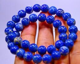 310CT Natural lapis lazuli carved beeds lot