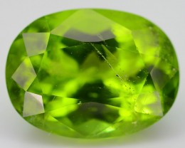 Certified 6.0 ct Himalaya Peridot AA Grade Color Pakistan SKU.1